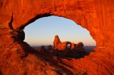 Arches national park, arches, national park, turret arch, north window arch, windows, north window, sunrise,