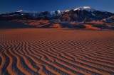 Days end, Great sand dunes national park, colorado, rays, sand, mt. herard, massif, north america, sangre de cristo, ran