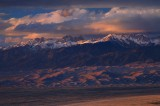 great sand dunes, national park, colorado, sand dunes, dunes, sunset, sangre de cristo, mountains, mountain,
