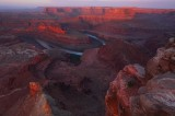 Dead horse point, utah, southeast utah, mustangs, horses, cowboys, sunrise, dead horse point state park,