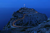cap, cape, formentor, lighthouse, mallorca, spain, long exposure.