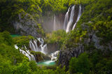 plitvice lakes, plitvice national park, waterfalls, falls, cascades, croatia, waterfall, plitvika,