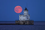 Blue Moon over Milwaukee