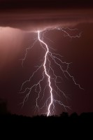 lightning, storm, bolt, strike, wisconsin, midwest, purple