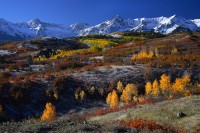 the dallas divide, dallas divide, san juan mountains, sneffels range, sneffels, colorado, fall, autumn,