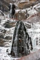 bridal veil falls, provo canyon, utah, provo, waterfall, winter, snow, ice, bridal, veil, falls, UT