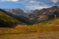 elk mountains, elk range, colorado, mountain, mountains, castle creek valley, autumn,fall,