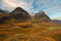 glen coe, glencoe, three sisters, mountains, scotland, scottish highlands, highlands, uk,