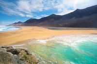 cofete, jandia, canary islands, fuerteventura, beach, sand,