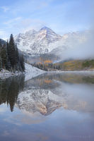 maroon lake, maroon bells, aspen, colorado, co, autumn, reflection, photographed,