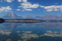 fall, grand teton national park, jackson lake, jackson, tetons, teton, wyoming, moran, mt moran, reflected, lake,