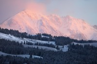 yellowstone national park, wyoming, yellowstone, sunrise, mountain, mountains, snow, pink, glow, alpenglow, landscape, l