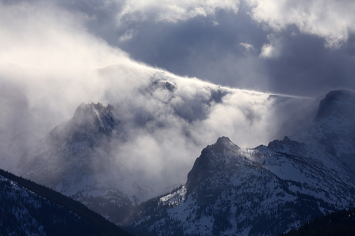 rocky mountain national park, colorado, rockies, continental divide, snow, weather, spring, , photo