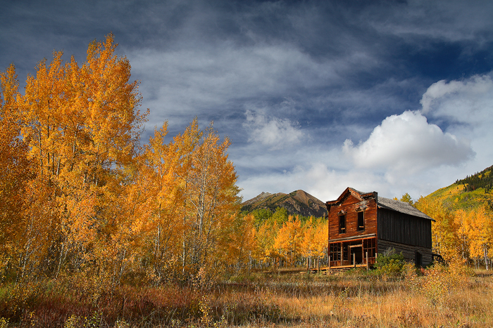 the hotel view, hotel view, ashcroft, colorado, ghost town, aspen, aspens, fall, autumn, , photo