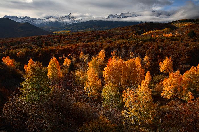 sneffels range, sneffels, mt sneffels, mount sneffels, mt. sneffels, dallas divide, san juan mountains, colorado, fourte, photo