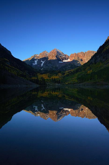maroon bells, maroon lake, bells, aspen, colorado, autumn, fall, reflection, , photo
