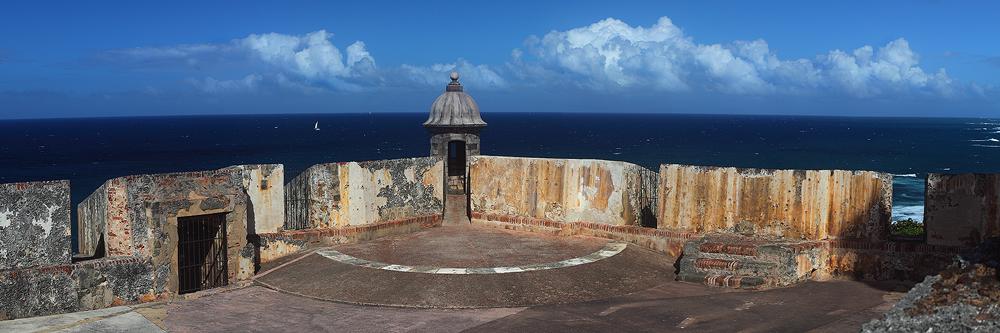 fort san felipe del morro, castillo san felipe del morro el morro, puerto rico, old san juan, san juan, garita, spanish,, photo