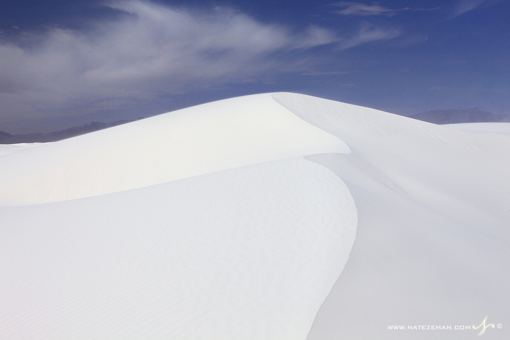 white sands, white sands national monument, sand, dunes, white, blue, sky, clouds, gypsum, formed, , photo