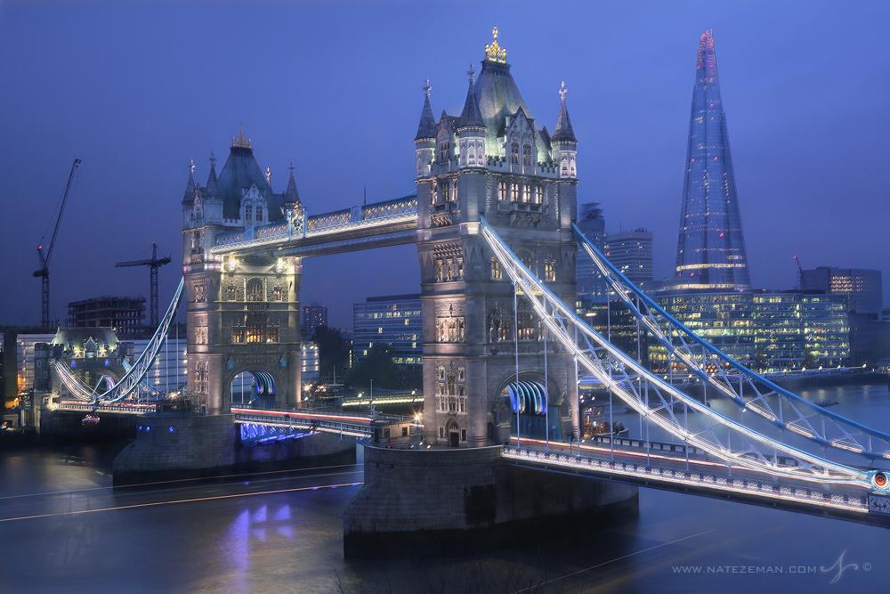 tower bridge, river thames, the shard, london, england, , photo