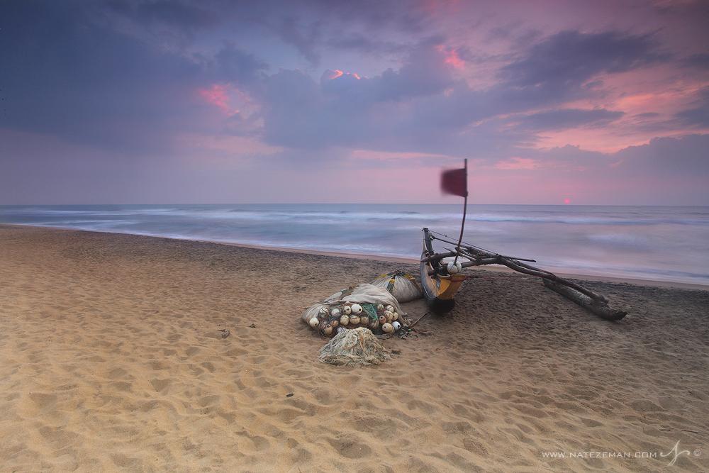 Sri Lanka, Tsunami, 2004, war, fishing, boat, sunset, photo