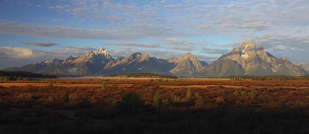 willow flats, tetons, grand teton national park,, photo