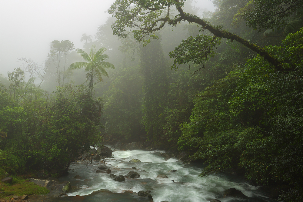 tenorio volcano national park, river,, photo