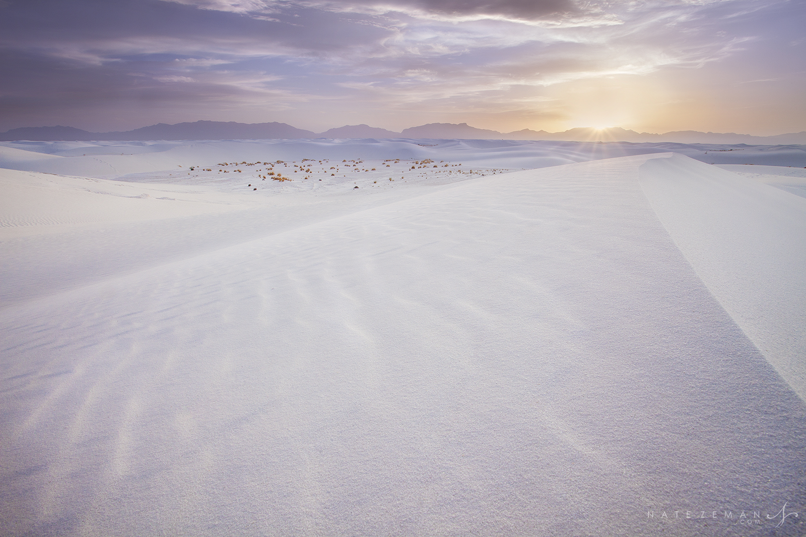 white sands, white sands national monument, new mexico, land of enchantment, sand dunes, sunset, photography, white, sand, gypsum, photo
