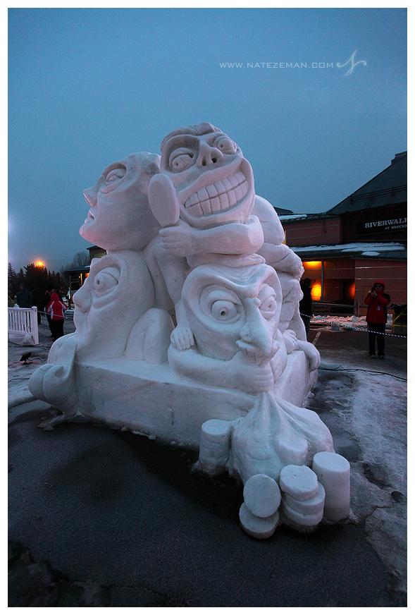 breckenridge, snow, sculptures, ice, colorado, co, 2013, 13, breck, , photo