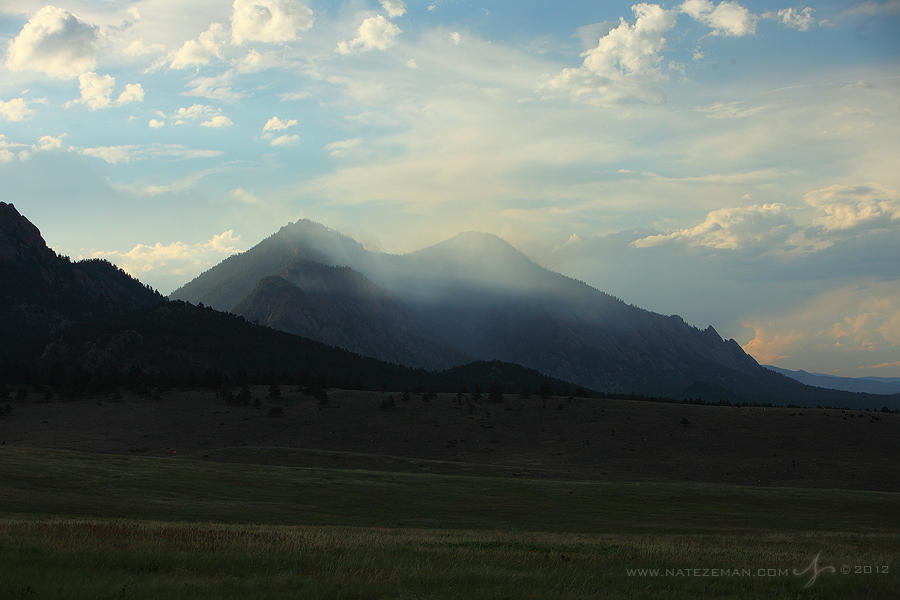 flagstaff, fire, boulder, co, colorado, flatirons, june, 28, 2012, wildfire, wild fire,, photo