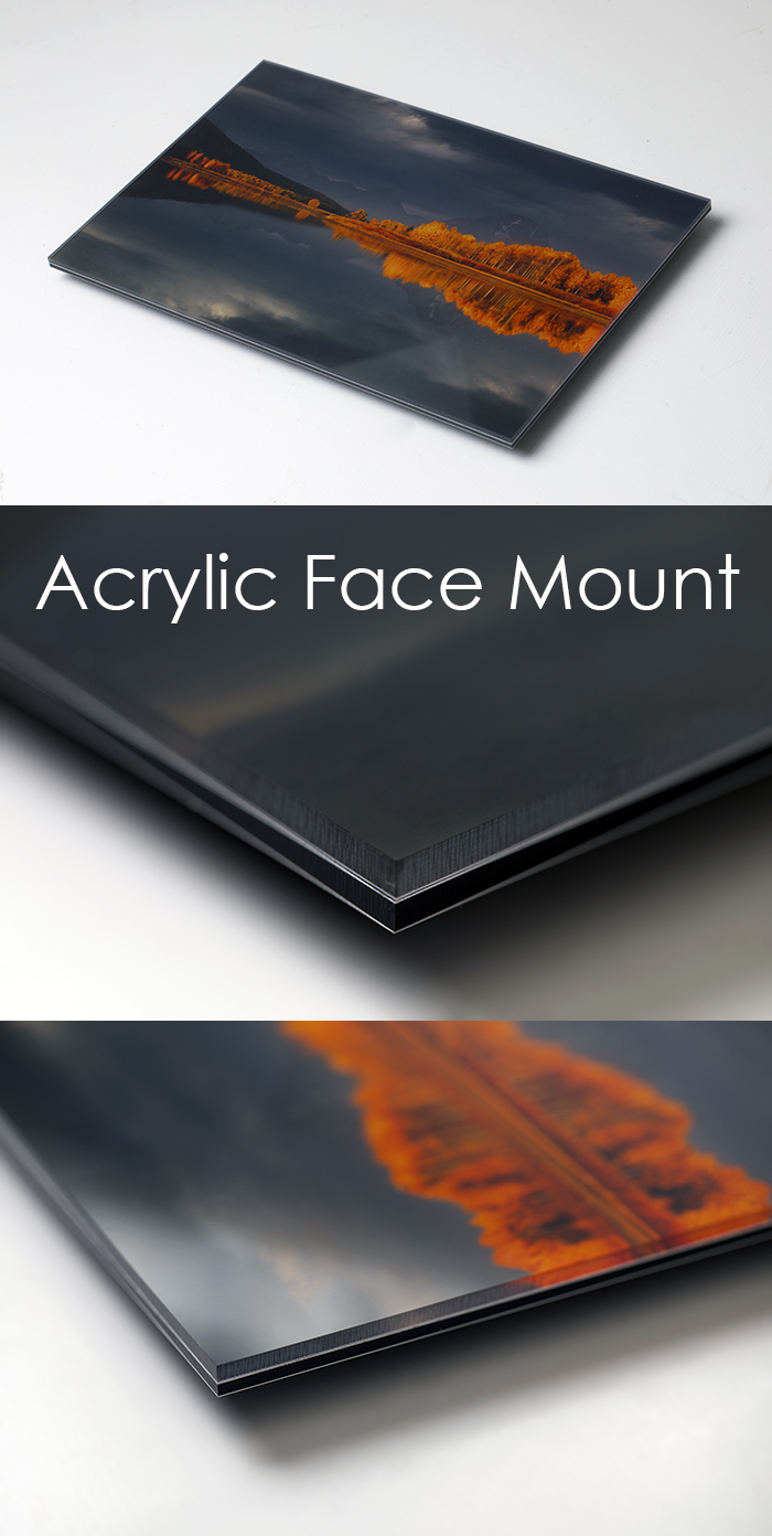 Acrylic Face Mount