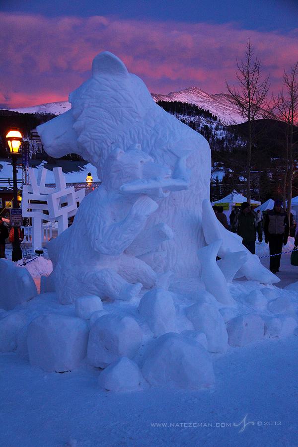 Breckenridge, Colorado, Co, Breck, Snow Sculptures, Sculpture, block, carve, art, riverwalk center, 2012, event,, photo