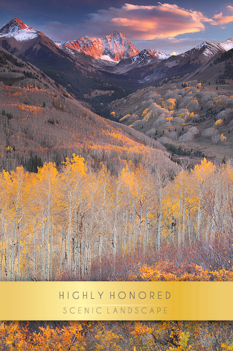 My photo End of the Gold Rush is one of my favorite autumn landscape images. The mountain in the photo is Capitol...